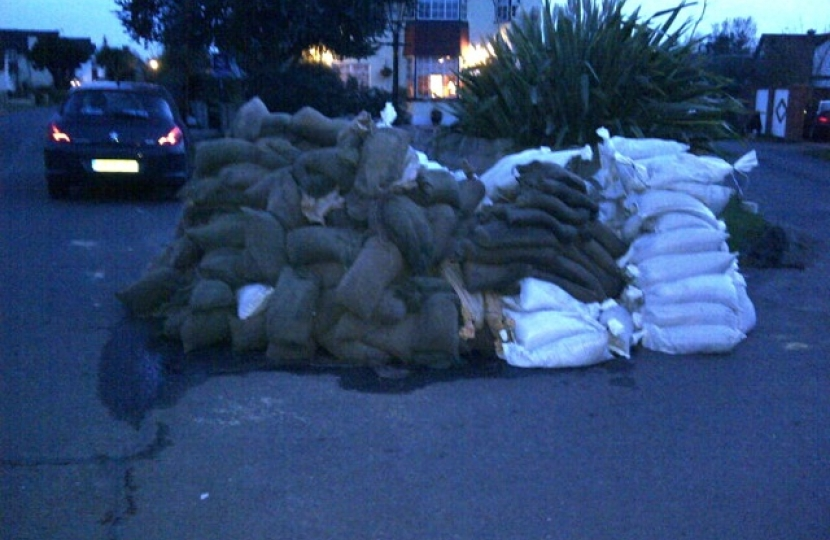 Sandbags for deployment