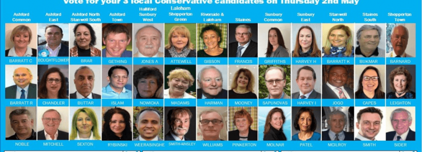 May 2019 local election Conservative Candidates